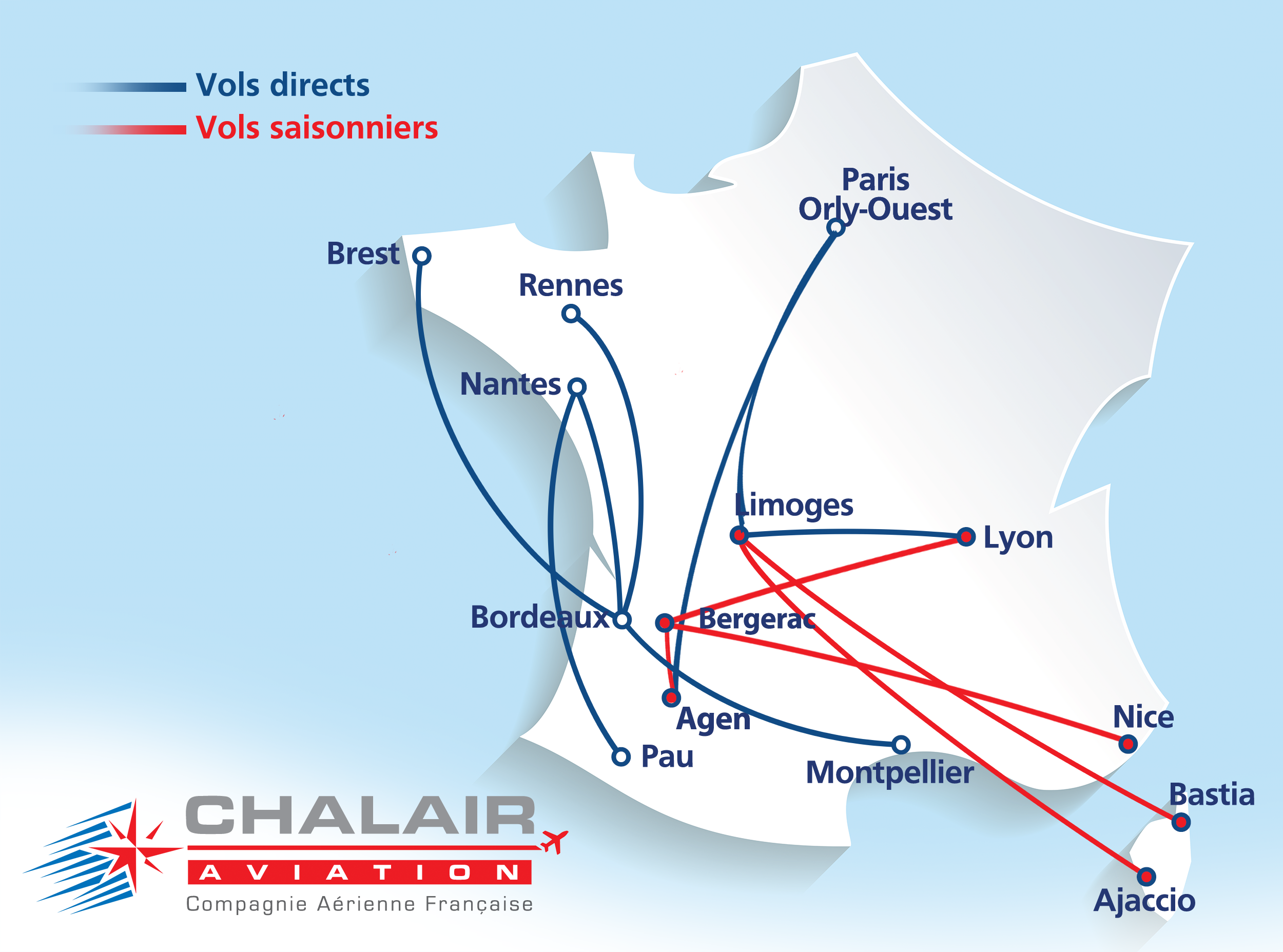 Carte réseau CHALAIR AVIATION